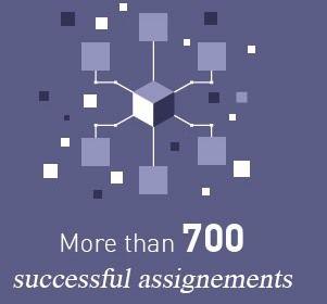 Plus de 700 projets réalisés